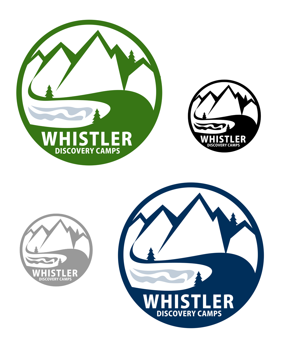 Logo Design by Robert Turla - Entry No. 89 in the Logo Design Contest Captivating Logo Design for Whistler Discovery Camps.