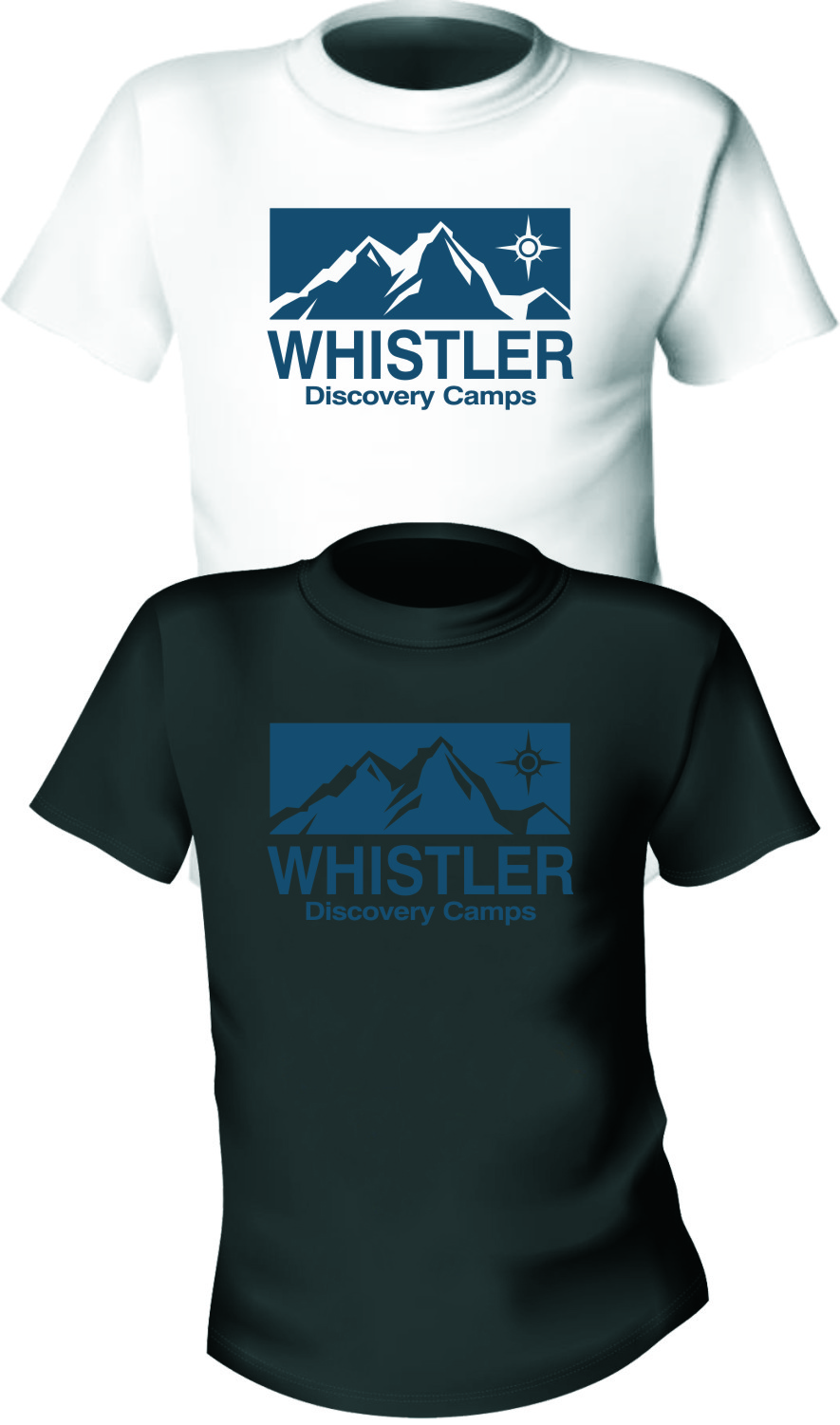 Logo Design by RasYa Muhammad Athaya - Entry No. 90 in the Logo Design Contest Captivating Logo Design for Whistler Discovery Camps.