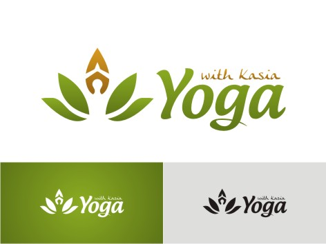 Logo Design by key - Entry No. 30 in the Logo Design Contest Artistic Logo Design for Yoga with Kasia.