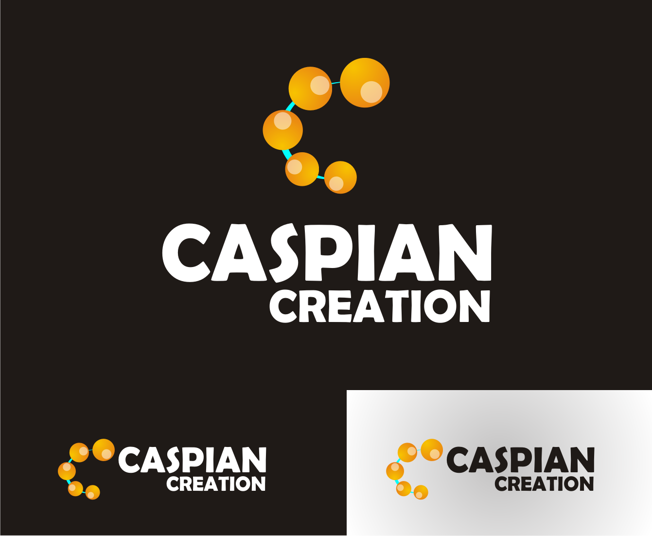 Logo Design by Nthus Nthis - Entry No. 12 in the Logo Design Contest Creative Logo Design for Caspian Creations.