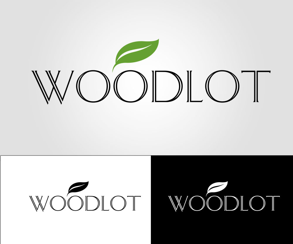 Logo Design by Nurrahmat Priatna - Entry No. 81 in the Logo Design Contest Fun Logo Design for woodlot.