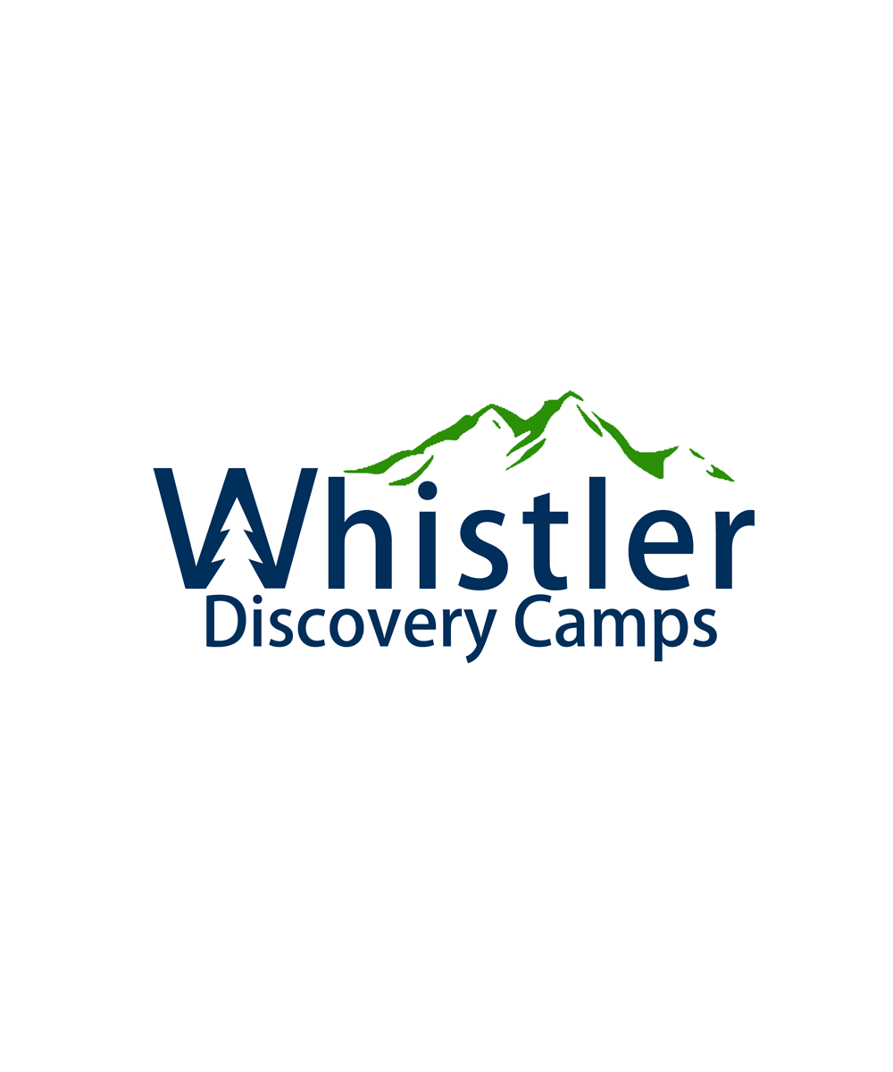 Logo Design by Robert Turla - Entry No. 91 in the Logo Design Contest Captivating Logo Design for Whistler Discovery Camps.