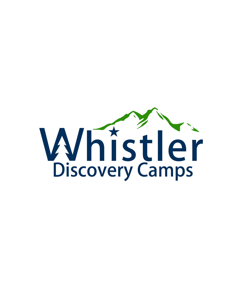 Logo Design by Private User - Entry No. 92 in the Logo Design Contest Captivating Logo Design for Whistler Discovery Camps.
