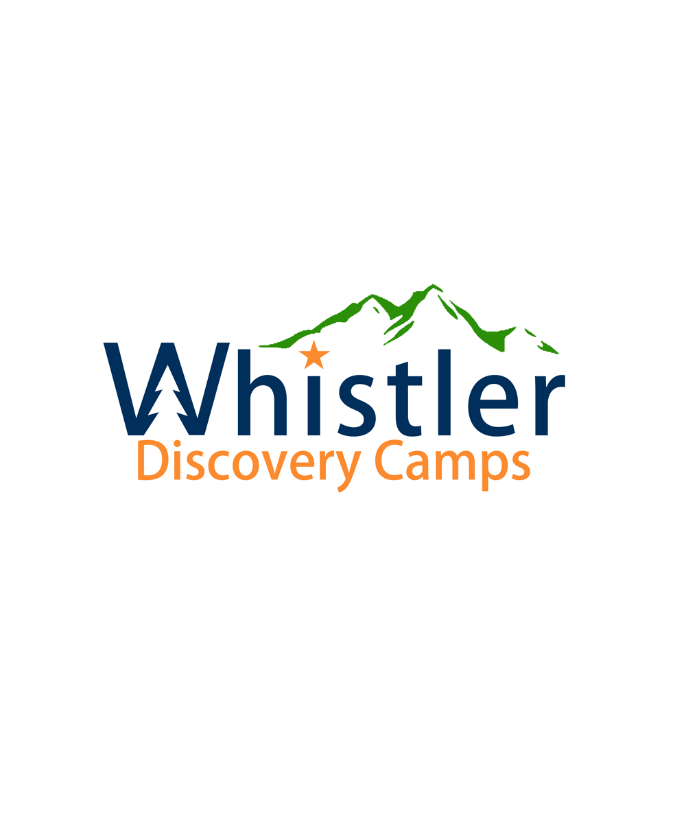 Logo Design by Private User - Entry No. 94 in the Logo Design Contest Captivating Logo Design for Whistler Discovery Camps.