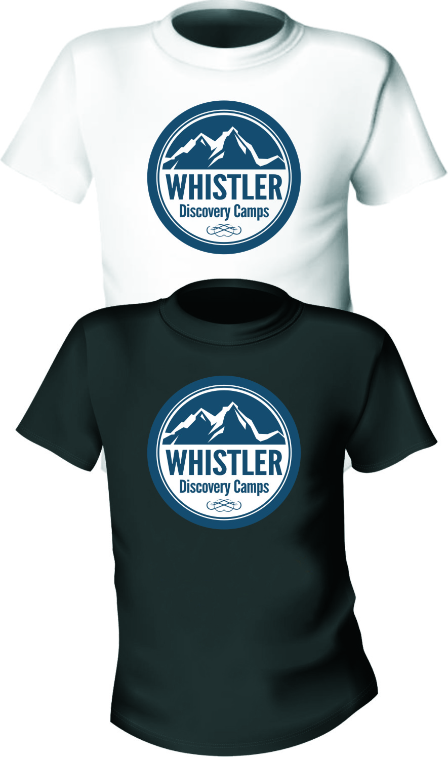 Logo Design by RasYa Muhammad Athaya - Entry No. 95 in the Logo Design Contest Captivating Logo Design for Whistler Discovery Camps.
