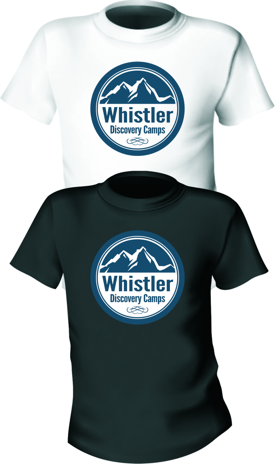 Logo Design by Ngepet_art - Entry No. 96 in the Logo Design Contest Captivating Logo Design for Whistler Discovery Camps.