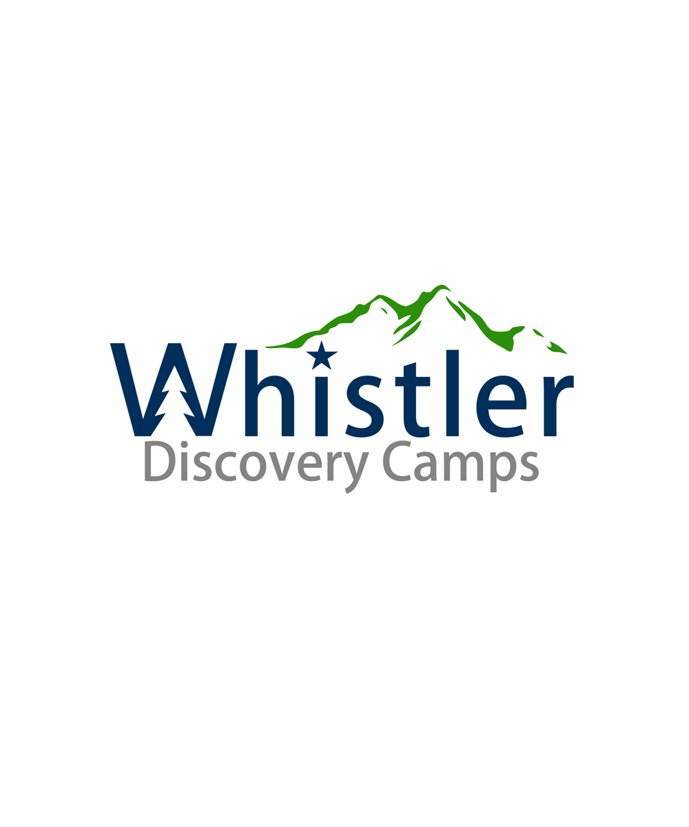 Logo Design by Private User - Entry No. 98 in the Logo Design Contest Captivating Logo Design for Whistler Discovery Camps.