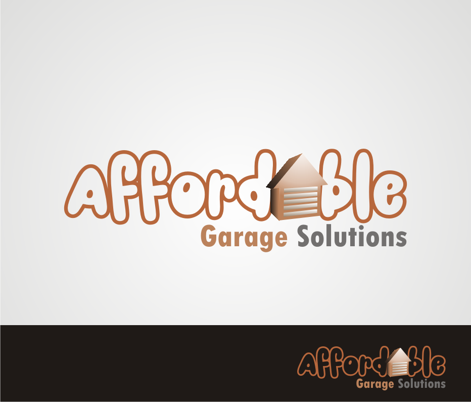 Logo Design by Nthus Nthis - Entry No. 16 in the Logo Design Contest Captivating Logo Design for affordable garage solutions.
