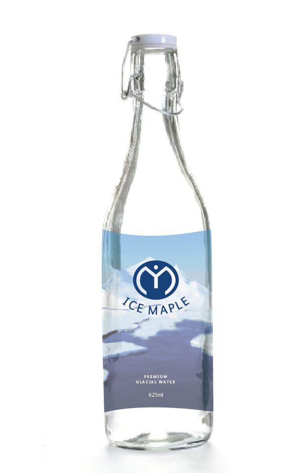 Packaging Design by Christina Evans - Entry No. 53 in the Packaging Design Contest Unique Label/Packaging Design Wanted for Premium Bottled Water (Maple Ice).