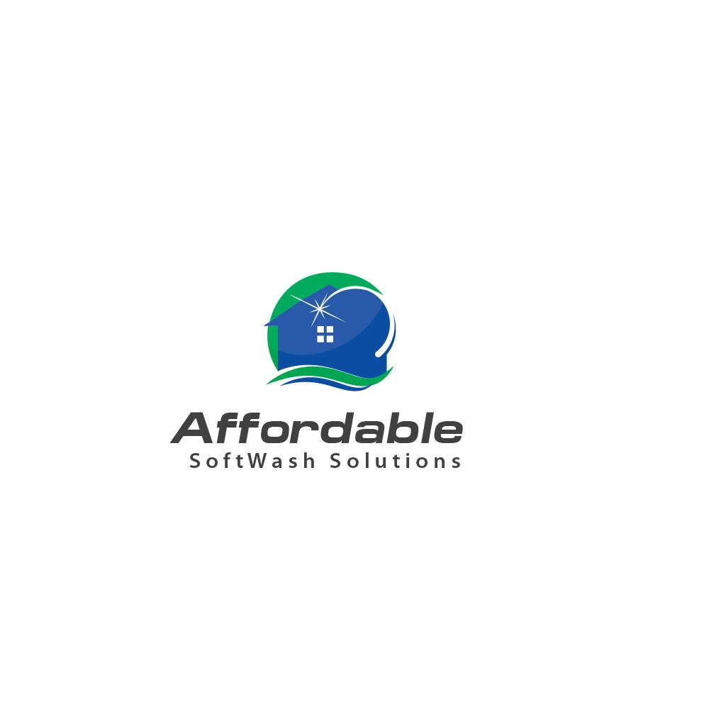 Logo Design by danelav - Entry No. 29 in the Logo Design Contest Imaginative Logo Design for Affordable SoftWash Solutions.