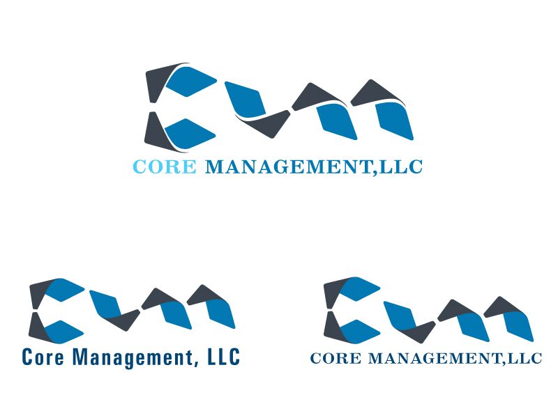 Logo Design by Kishor Patil - Entry No. 89 in the Logo Design Contest Creative Logo Design for CORE Management, LLC.