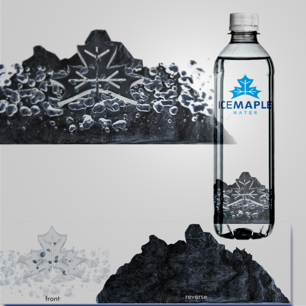 Packaging Design by Private User - Entry No. 57 in the Packaging Design Contest Unique Label/Packaging Design Wanted for Premium Bottled Water (Maple Ice).