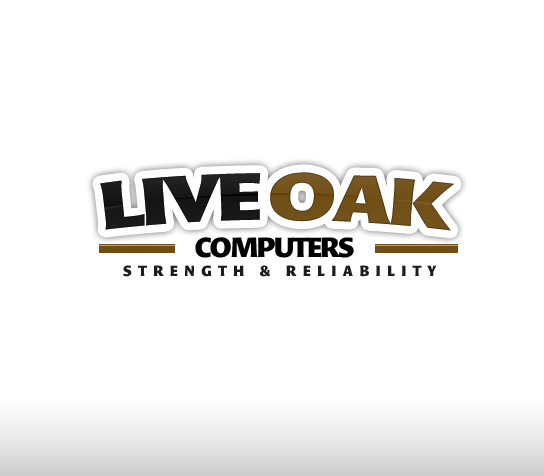 Logo Design by rockpinoy - Entry No. 6 in the Logo Design Contest Live Oak Computers.