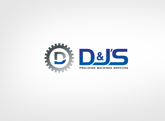 Logo Design by Jan Chua - Entry No. 72 in the Logo Design Contest Creative Logo Design for D & J's Precision Machine Services.