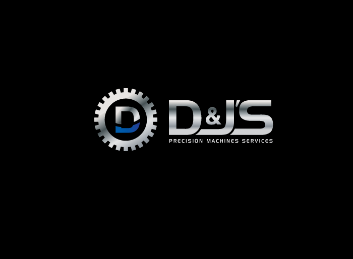 Logo Design by Jan Chua - Entry No. 73 in the Logo Design Contest Creative Logo Design for D & J's Precision Machine Services.