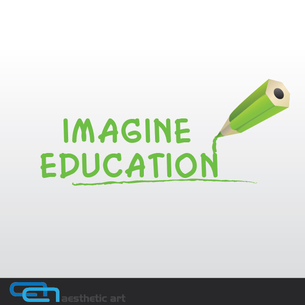 Logo Design by aesthetic-art - Entry No. 81 in the Logo Design Contest Imagine Education.