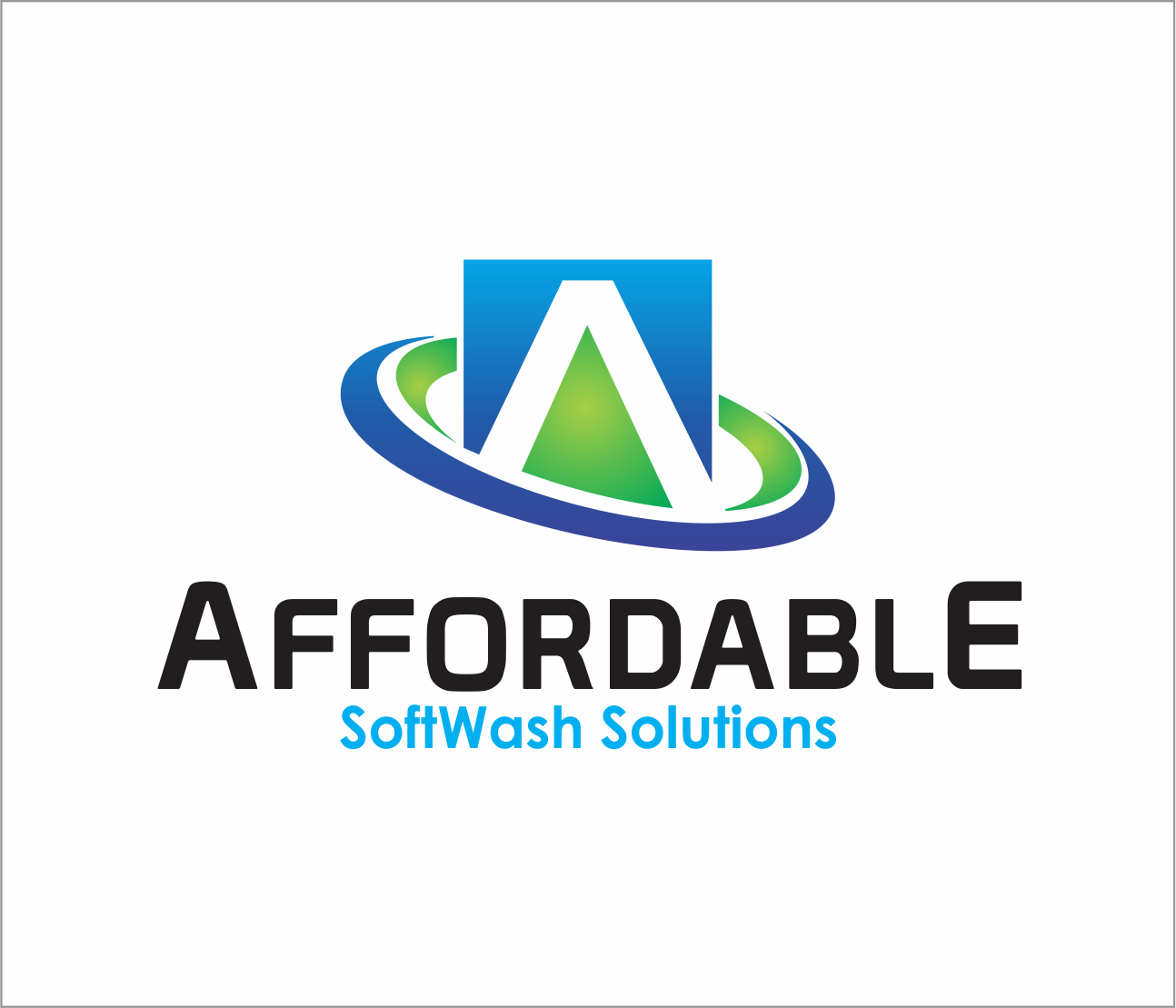 Logo Design by Armada Jamaluddin - Entry No. 33 in the Logo Design Contest Imaginative Logo Design for Affordable SoftWash Solutions.
