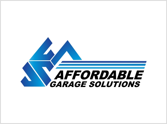Logo Design by Private User - Entry No. 17 in the Logo Design Contest Captivating Logo Design for affordable garage solutions.
