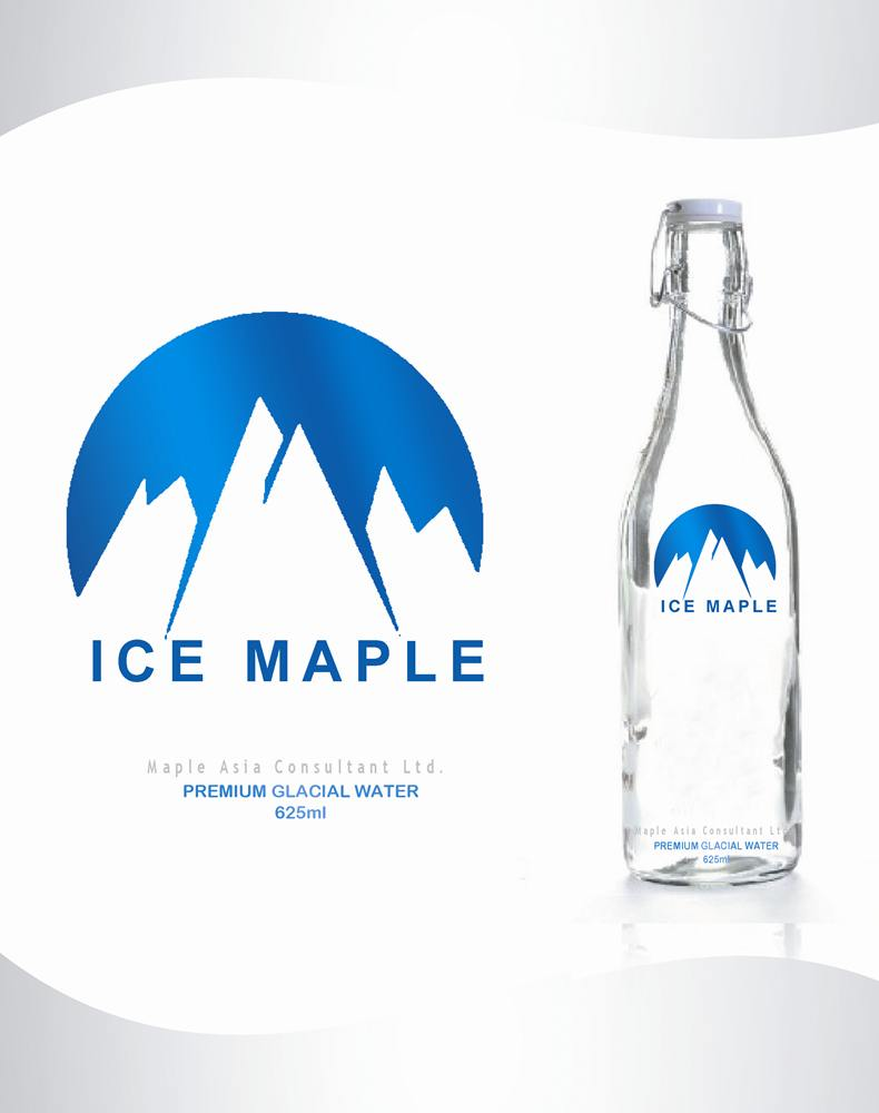 Packaging Design by Respati Himawan - Entry No. 64 in the Packaging Design Contest Unique Label/Packaging Design Wanted for Premium Bottled Water (Maple Ice).
