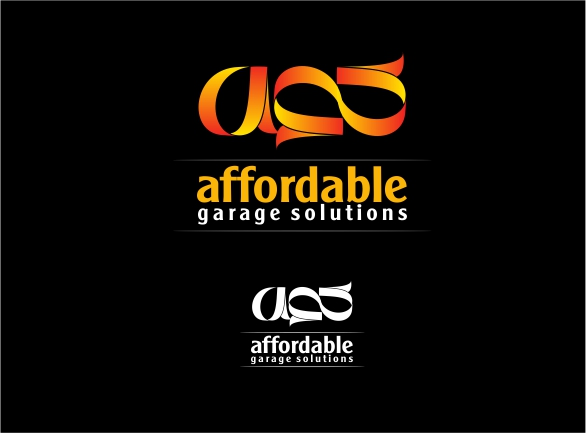 Logo Design by Private User - Entry No. 21 in the Logo Design Contest Captivating Logo Design for affordable garage solutions.