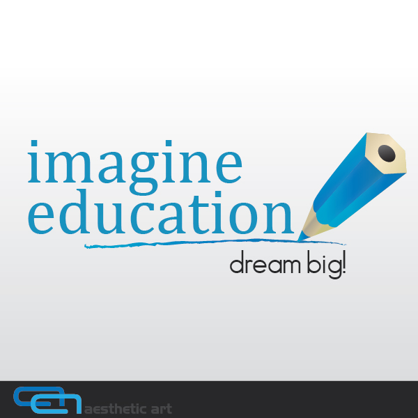 Logo Design by aesthetic-art - Entry No. 85 in the Logo Design Contest Imagine Education.