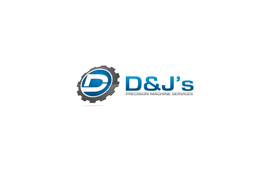 Logo Design by untung - Entry No. 78 in the Logo Design Contest Creative Logo Design for D & J's Precision Machine Services.