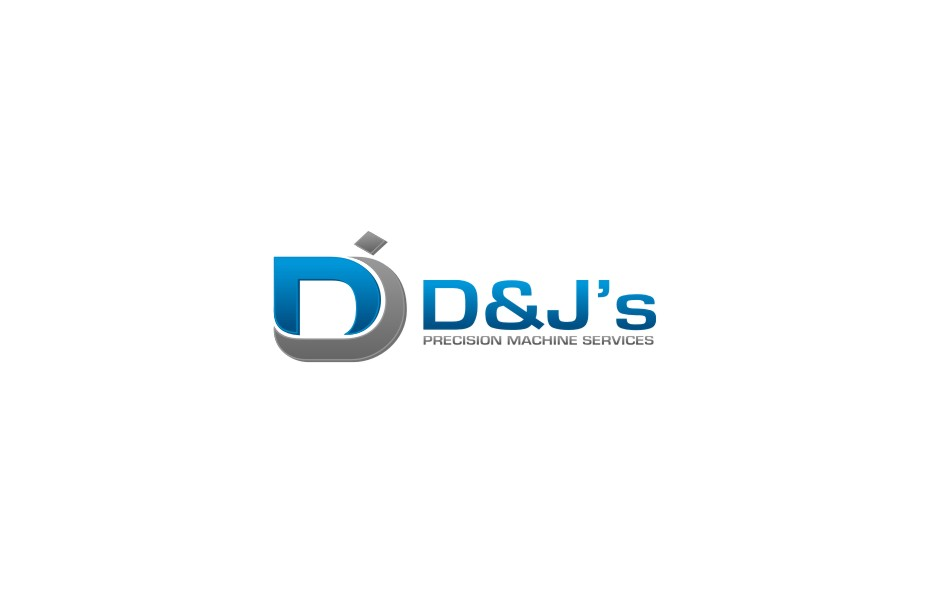 Logo Design by untung - Entry No. 79 in the Logo Design Contest Creative Logo Design for D & J's Precision Machine Services.