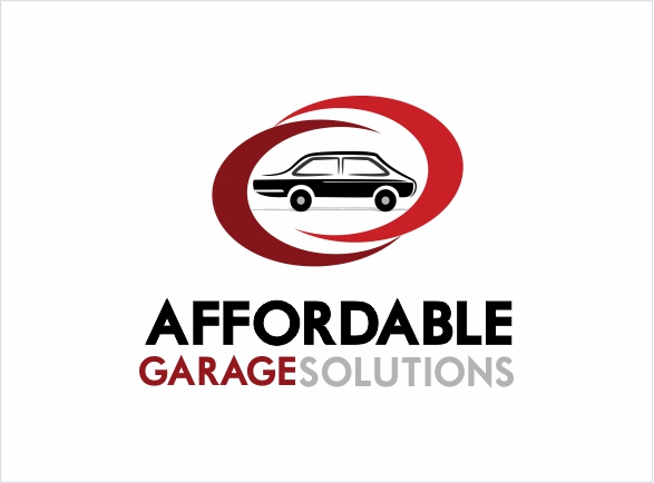 Logo Design by Private User - Entry No. 27 in the Logo Design Contest Captivating Logo Design for affordable garage solutions.