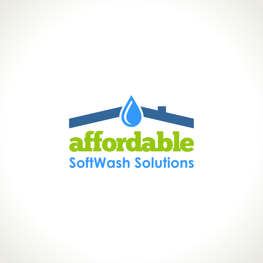 Logo Design by Private User - Entry No. 36 in the Logo Design Contest Imaginative Logo Design for Affordable SoftWash Solutions.