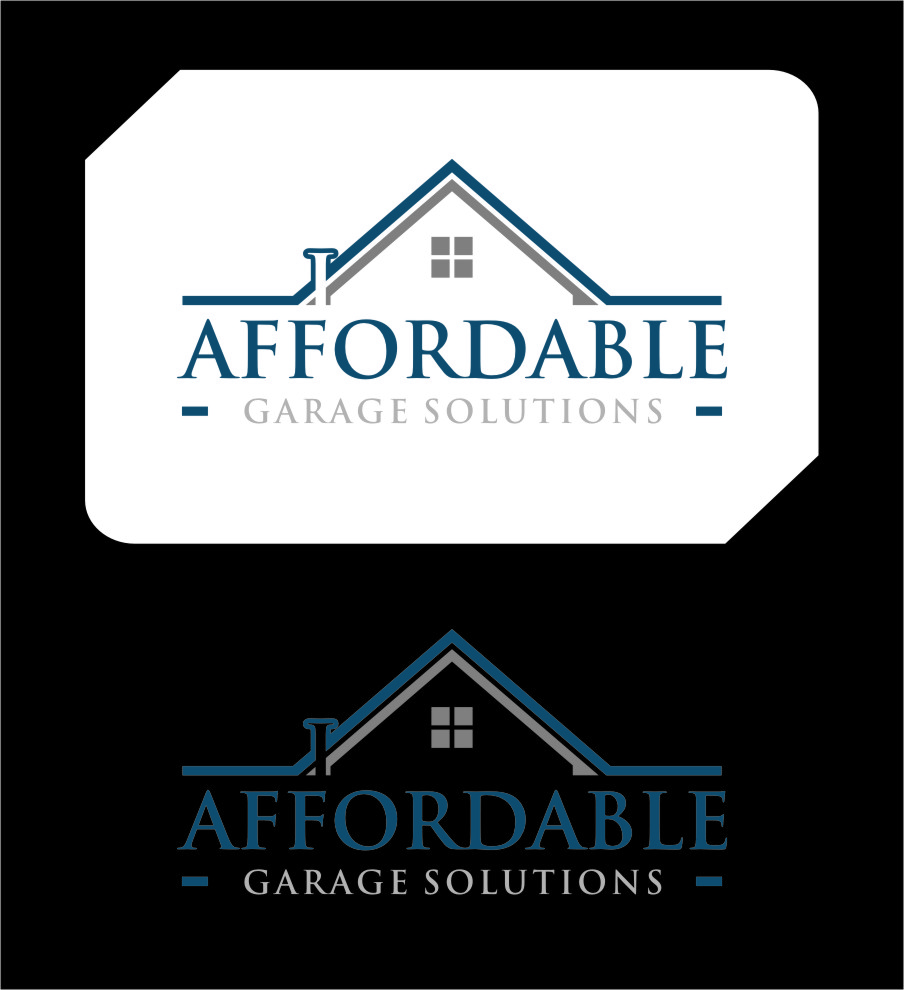 Logo Design by Ngepet_art - Entry No. 34 in the Logo Design Contest Captivating Logo Design for affordable garage solutions.