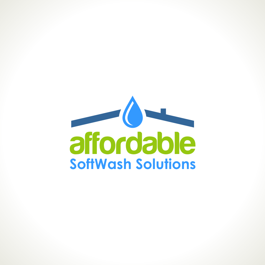 Logo Design by Private User - Entry No. 41 in the Logo Design Contest Imaginative Logo Design for Affordable SoftWash Solutions.
