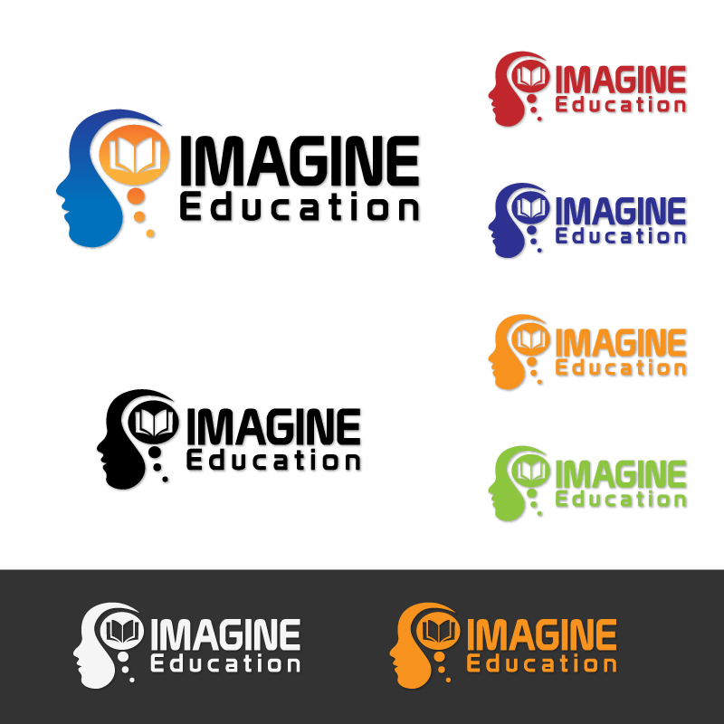 Logo Design by alfietubillara - Entry No. 87 in the Logo Design Contest Imagine Education.