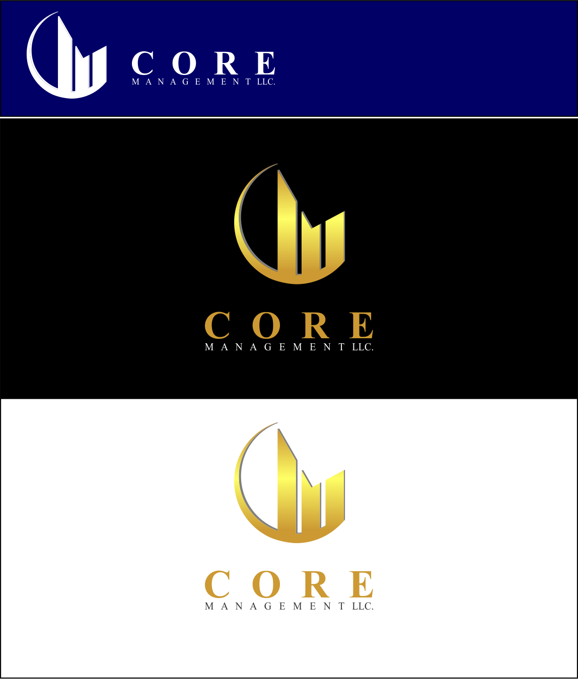 Logo Design by Agus Martoyo - Entry No. 125 in the Logo Design Contest Creative Logo Design for CORE Management, LLC.