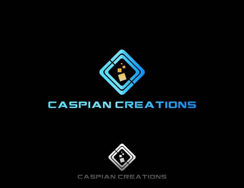 Logo Design by Juan_Kata - Entry No. 13 in the Logo Design Contest Creative Logo Design for Caspian Creations.