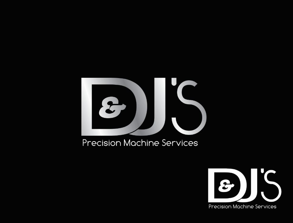 Logo Design by Tenstar Design - Entry No. 82 in the Logo Design Contest Creative Logo Design for D & J's Precision Machine Services.