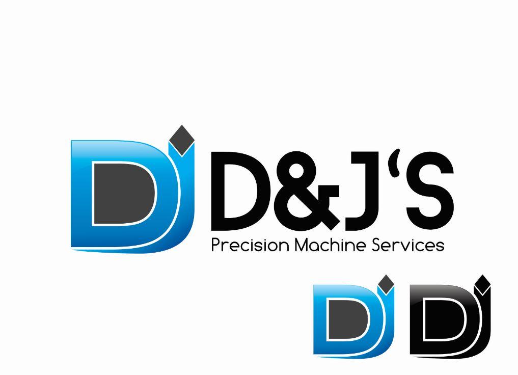 Logo Design by Tenstar Design - Entry No. 83 in the Logo Design Contest Creative Logo Design for D & J's Precision Machine Services.