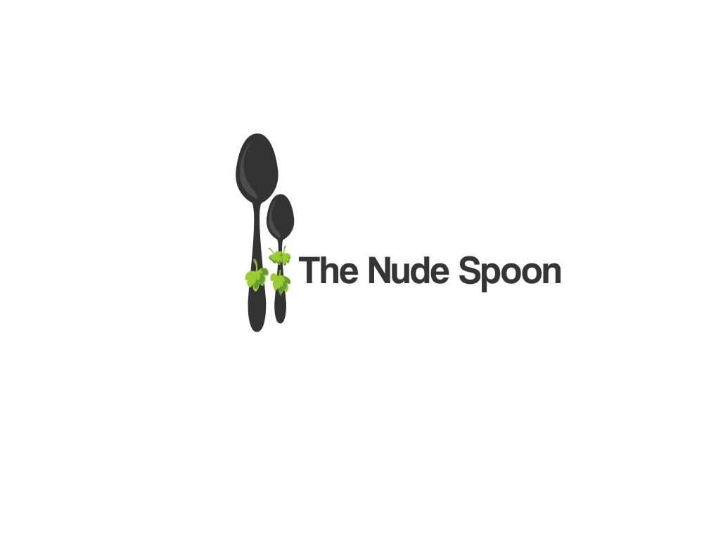 Logo Design by Chris Frederickson - Entry No. 4 in the Logo Design Contest Captivating Logo Design for The Nude Spoon.
