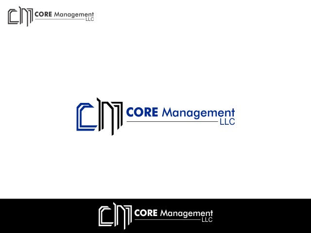 Logo Design by Rizwan Saeed - Entry No. 135 in the Logo Design Contest Creative Logo Design for CORE Management, LLC.