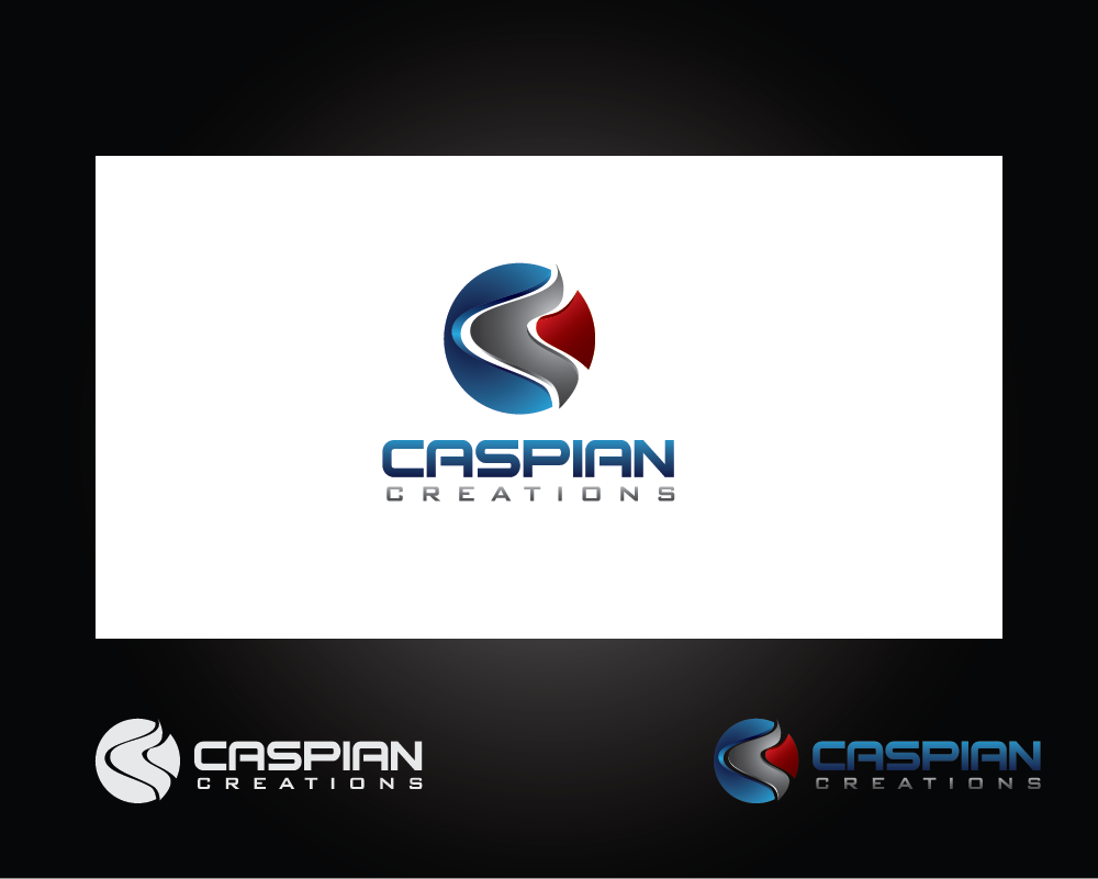 Logo Design by roc - Entry No. 14 in the Logo Design Contest Creative Logo Design for Caspian Creations.
