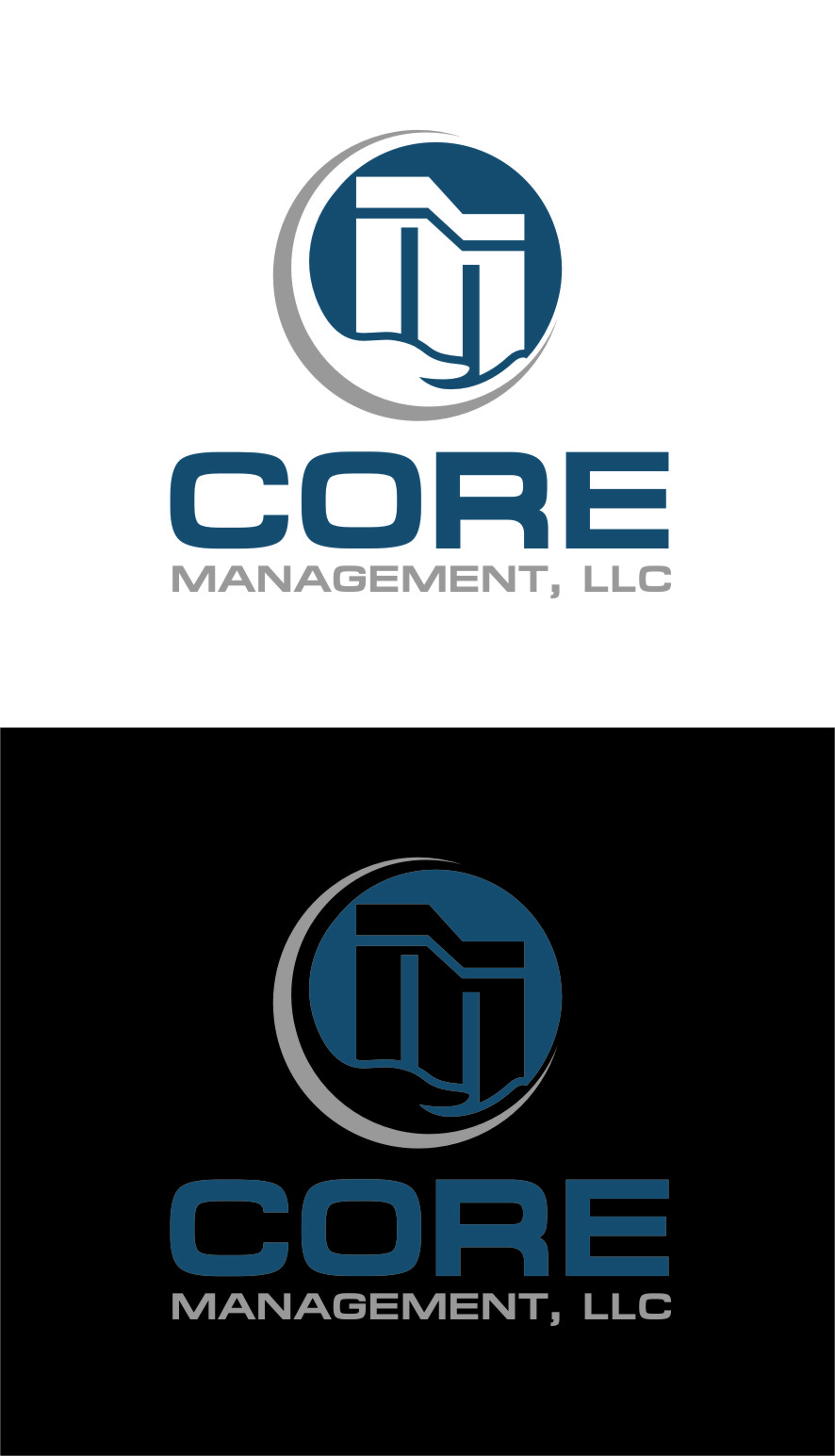 Logo Design by Ngepet_art - Entry No. 137 in the Logo Design Contest Creative Logo Design for CORE Management, LLC.