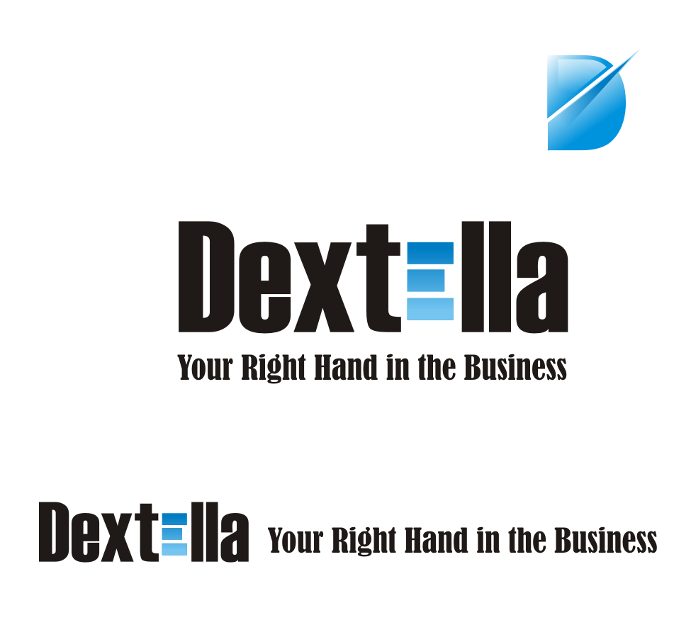 Logo Design by Nthus Nthis - Entry No. 3 in the Logo Design Contest Unique Logo Design Wanted for Dextella s.r.o..