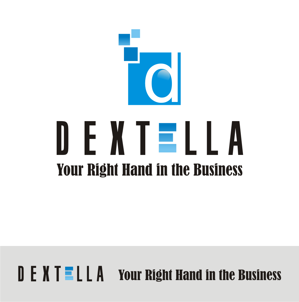 Logo Design by Nthus Nthis - Entry No. 4 in the Logo Design Contest Unique Logo Design Wanted for Dextella s.r.o..