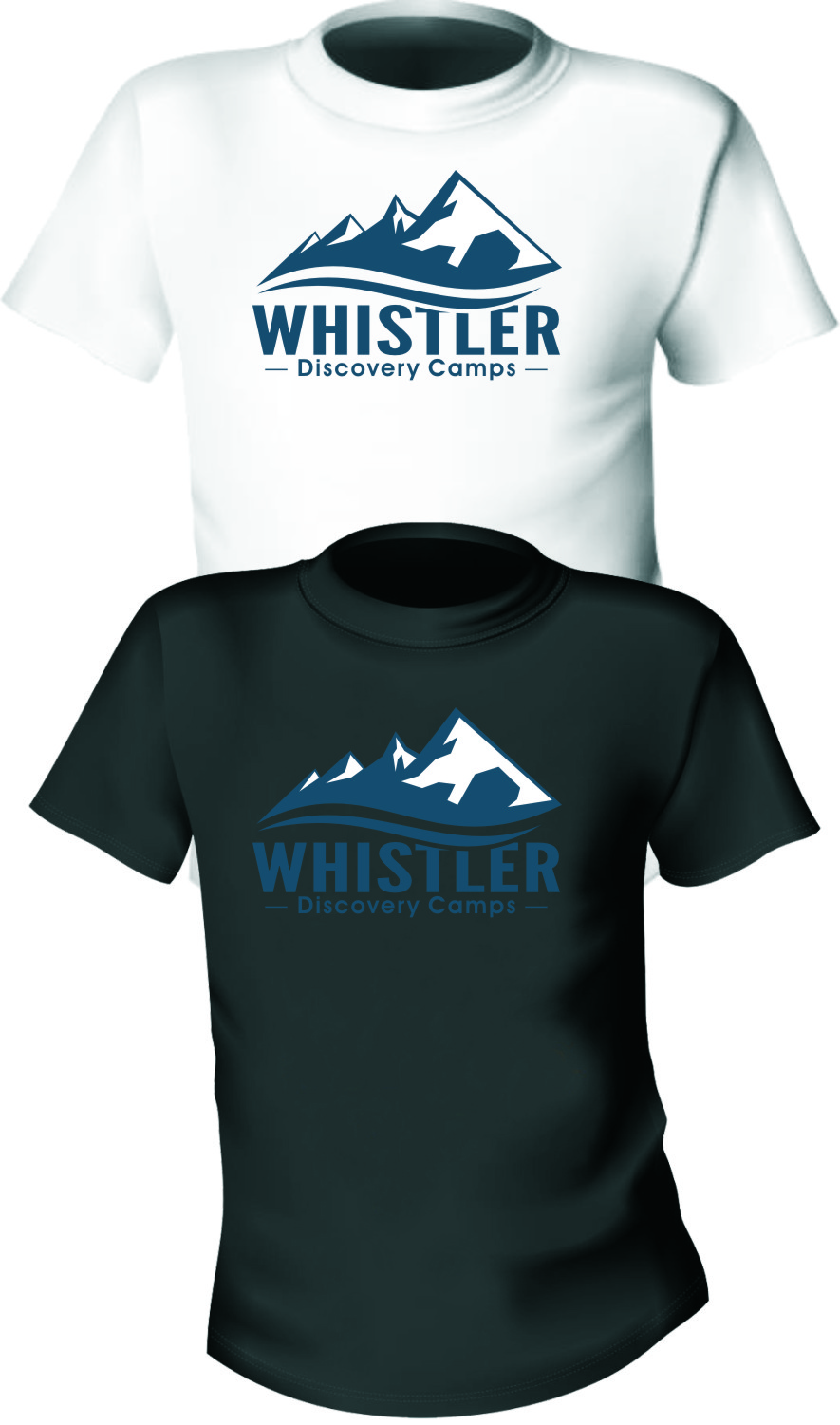 Logo Design by RasYa Muhammad Athaya - Entry No. 103 in the Logo Design Contest Captivating Logo Design for Whistler Discovery Camps.