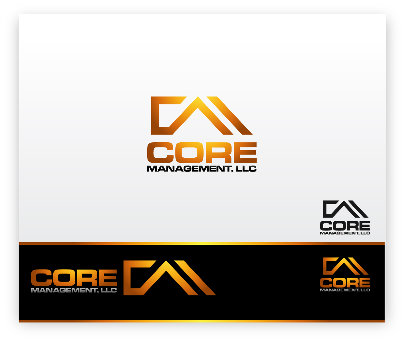Logo Design by zoiDesign - Entry No. 140 in the Logo Design Contest Creative Logo Design for CORE Management, LLC.
