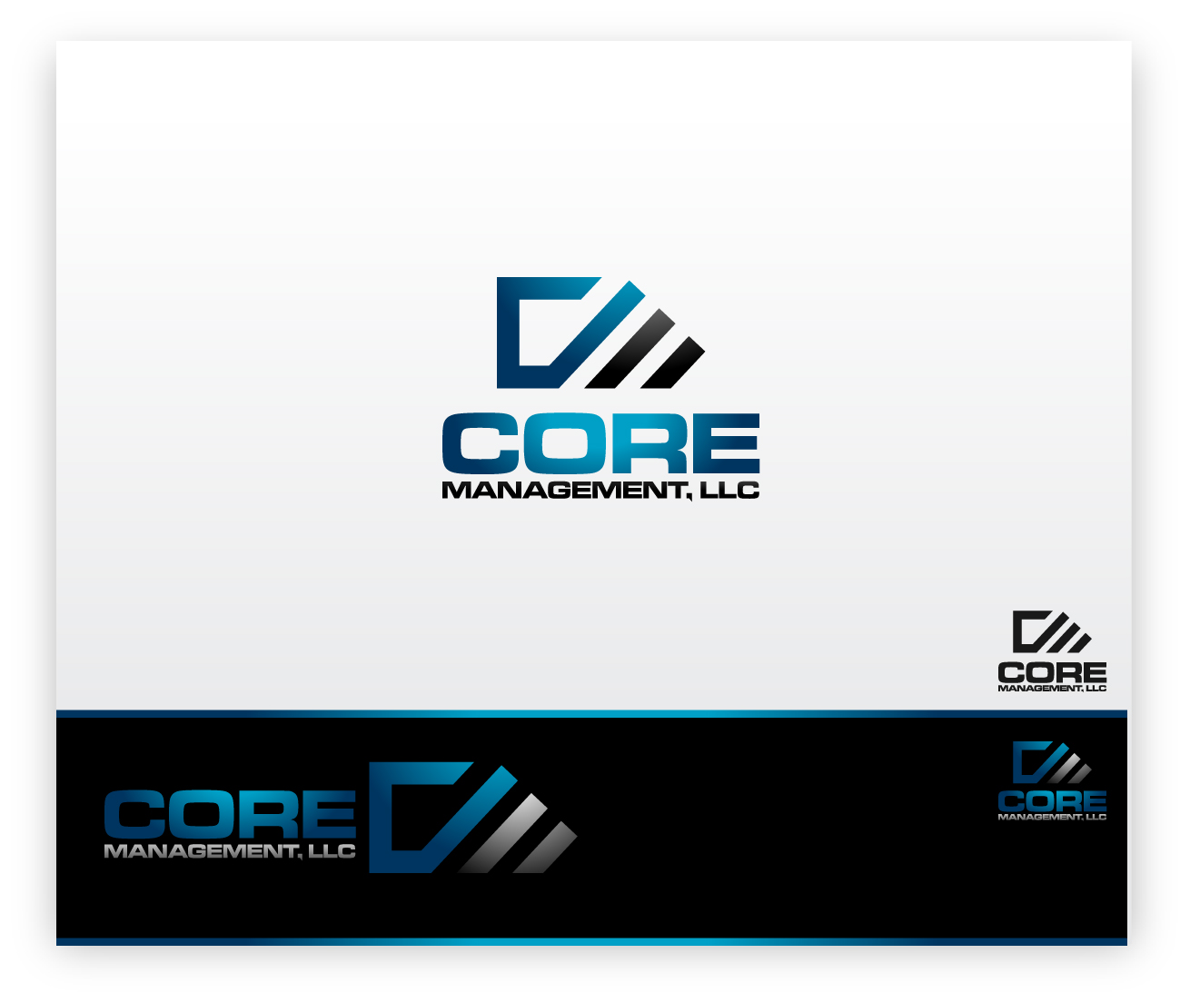 Logo Design by zoiDesign - Entry No. 144 in the Logo Design Contest Creative Logo Design for CORE Management, LLC.