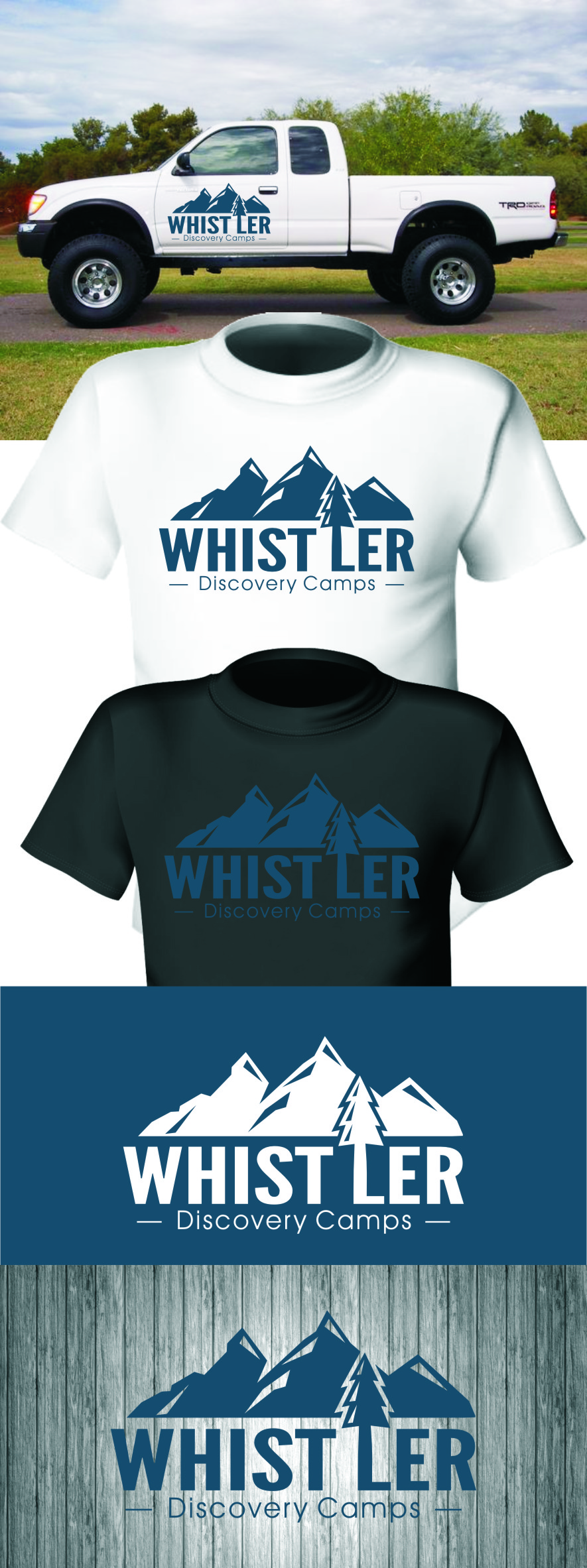 Logo Design by Ngepet_art - Entry No. 107 in the Logo Design Contest Captivating Logo Design for Whistler Discovery Camps.