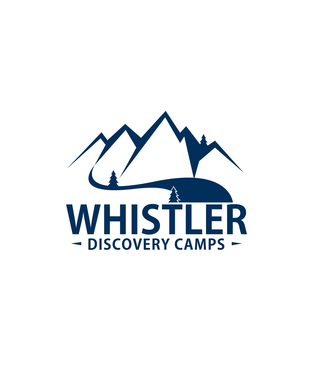 Logo Design by Private User - Entry No. 108 in the Logo Design Contest Captivating Logo Design for Whistler Discovery Camps.