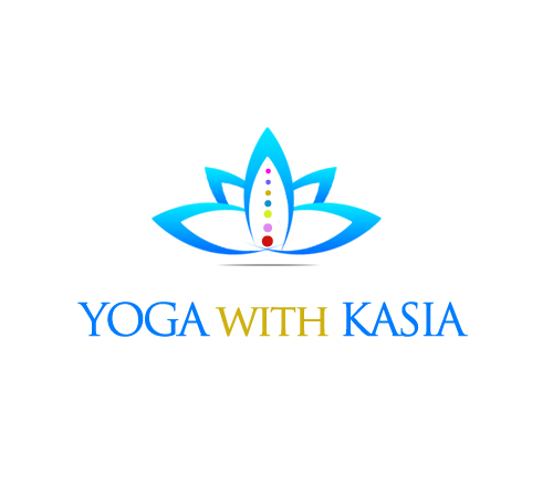 Logo Design by Crystal Desizns - Entry No. 39 in the Logo Design Contest Artistic Logo Design for Yoga with Kasia.