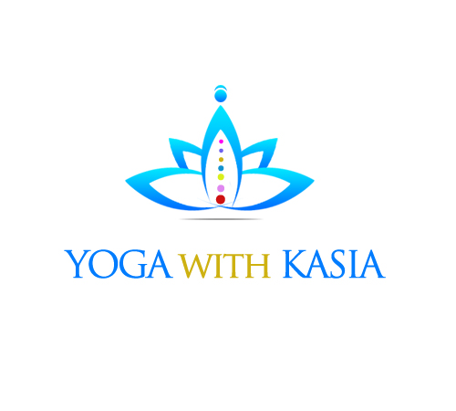 Logo Design by Crystal Desizns - Entry No. 40 in the Logo Design Contest Artistic Logo Design for Yoga with Kasia.