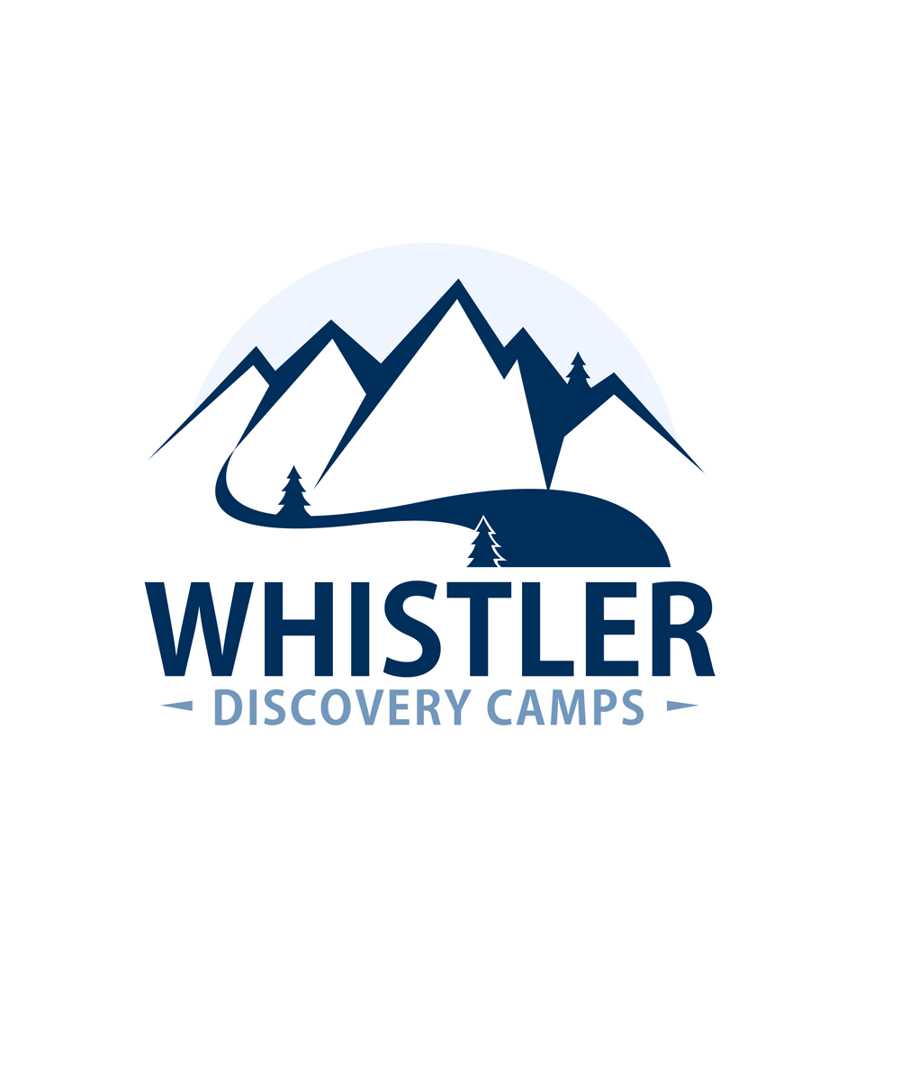 Logo Design by Private User - Entry No. 111 in the Logo Design Contest Captivating Logo Design for Whistler Discovery Camps.